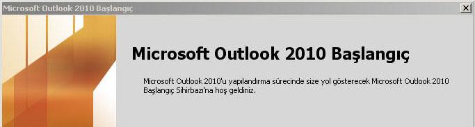 Microsoft Outlook 2010 Email setup